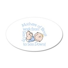 Mothers Of Boys Wall Decal