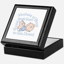 Mothers Of Boys Keepsake Box