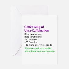 Epic Coffee Mug Greeting Card