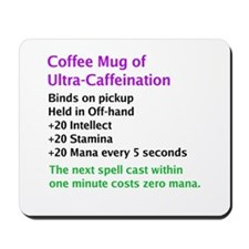 Epic Coffee Mug Mousepad