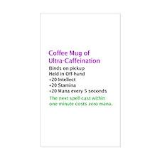 Epic Coffee Mug Rectangle Decal