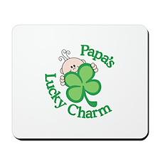 Papa's Lucky Charm Mousepad