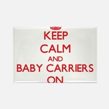 Keep Calm and Baby Carriers ON Magnets