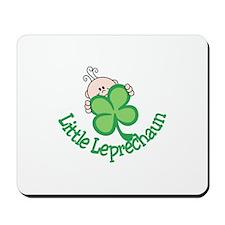 Little Leprechaun Mousepad