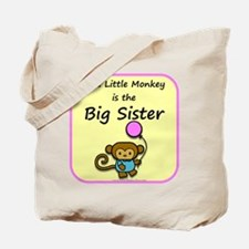 This little monkey is the big Tote Bag