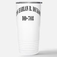 USS HARLAN R. DICKSON Travel Mug
