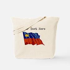 Liechtenstein Flag (Distressed) Tote Bag