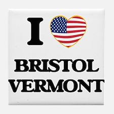 I love Bristol Vermont Tile Coaster