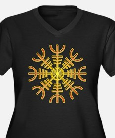 Helm of Awe Plus Size T-Shirt