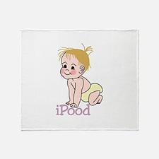 iPood Throw Blanket
