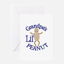 Grandpa's Lil' Peanut Greeting Cards