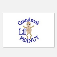 Grandma's Lil' Peanut Postcards (Package of 8)
