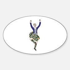 Highland Dancer Decal
