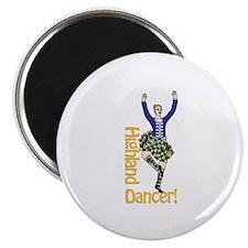 Highland Dancer Magnets