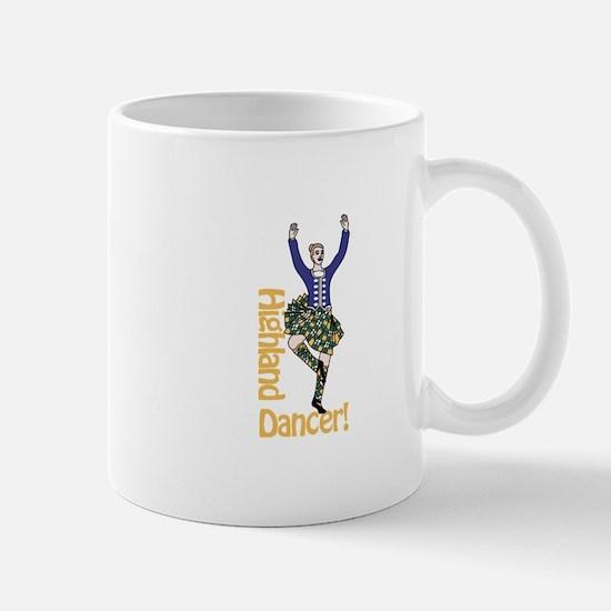 Highland Dancer Mugs