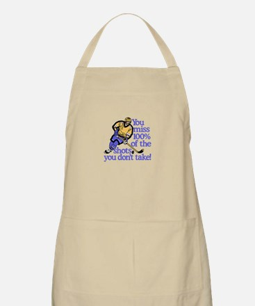 100% Of The Shots Apron
