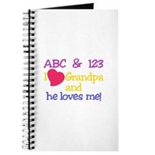 Grandpa And He Loves Me! Journal