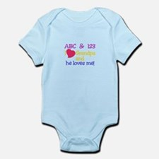 Grandpa And He Loves Me! Body Suit