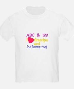 Grandpa And He Loves Me! T-Shirt