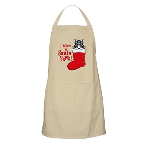 Santa Paws Kitty BBQ Apron