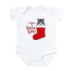 Santa Paws Kitty Infant Bodysuit