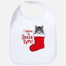 Santa Paws Kitty Bib
