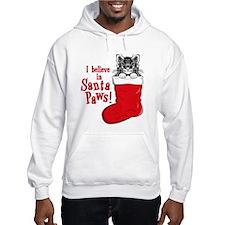 Santa Paws Kitty Hoodie