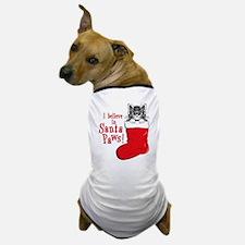 Santa Paws Kitty Dog T-Shirt