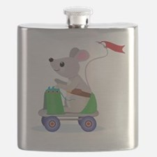 Cute Mouse Flask