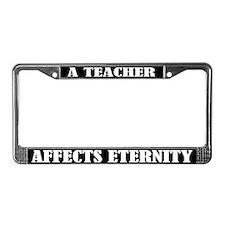 Teaching License Plate Frame