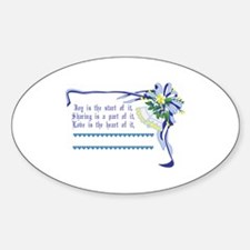 Wedding Blessing Decal