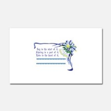 Wedding Blessing Car Magnet 20 x 12