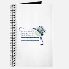 Wedding Blessing Journal