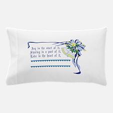 Wedding Blessing Pillow Case