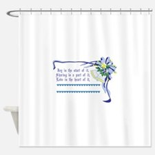 Wedding Blessing Shower Curtain