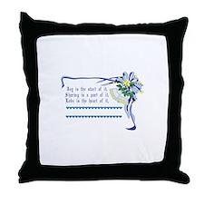 Wedding Blessing Throw Pillow