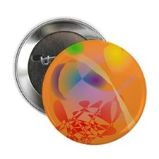 """Orange Composition 2.25"""" Button (10 pack)"""
