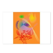 Orange Composition Postcards (Package of 8)