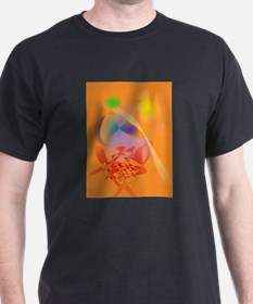 Orange Composition T-Shirt