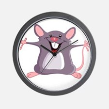 Happy Greeter Mouse Wall Clock