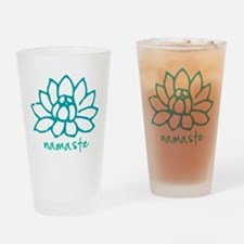 Namaste Lotus Drinking Glass