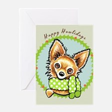 LH Chihuahua Happy Howlidays Greeting Card