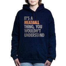 Meatball Thing Women's Hooded Sweatshirt