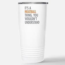 Meatball Thing Travel Mug