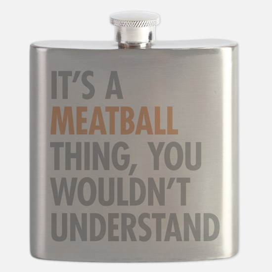 Meatball Thing Flask