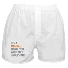 Meatball Thing Boxer Shorts