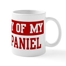 Property of Field Spaniel Mug