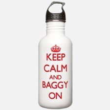 Keep Calm and Baggy ON Water Bottle
