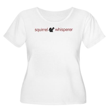 Squirrel Whisperer Women's Plus Size Scoop Neck T-