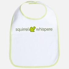 Squirrel Whisperer Bib